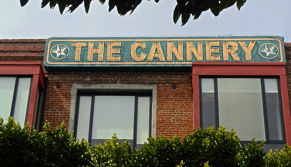 Cannery Building landmark in San Francisco's Fisherman's Wharf.