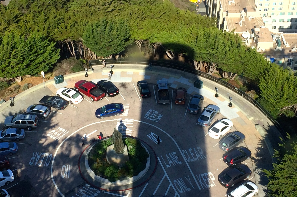 Coit Tower Shadow