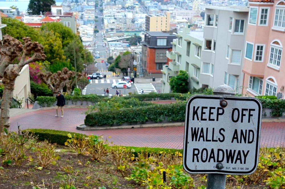 Keep Off Lombard Street