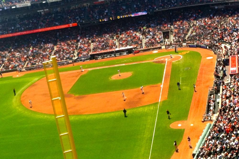 Giants Baseball Game