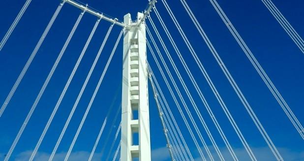 Bay Bridge White Cables