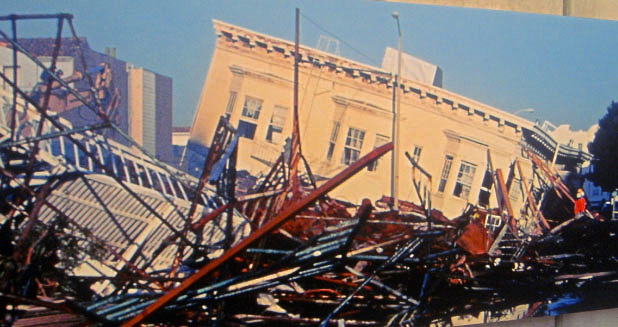 1989 Earthquake in the Marina