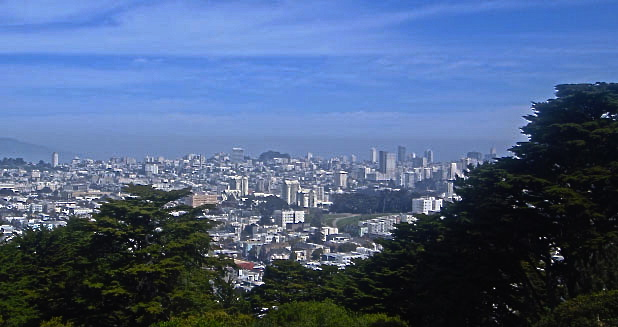 Tour Buena Vista Park in Haight Ashbury