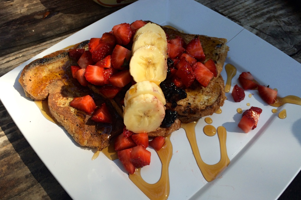 French Toast All-Inclusive Camp Meal