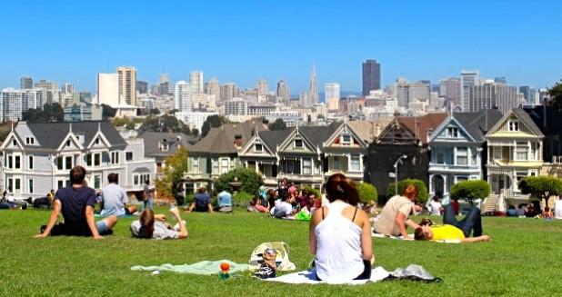 Best View San Francisco Alamo Square