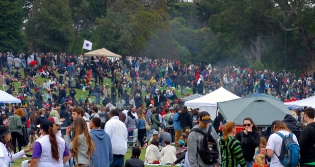 420 in Golden Gate Park