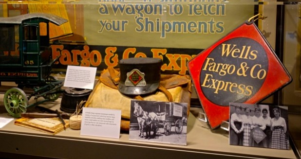 Wells Fargo History Museum Display