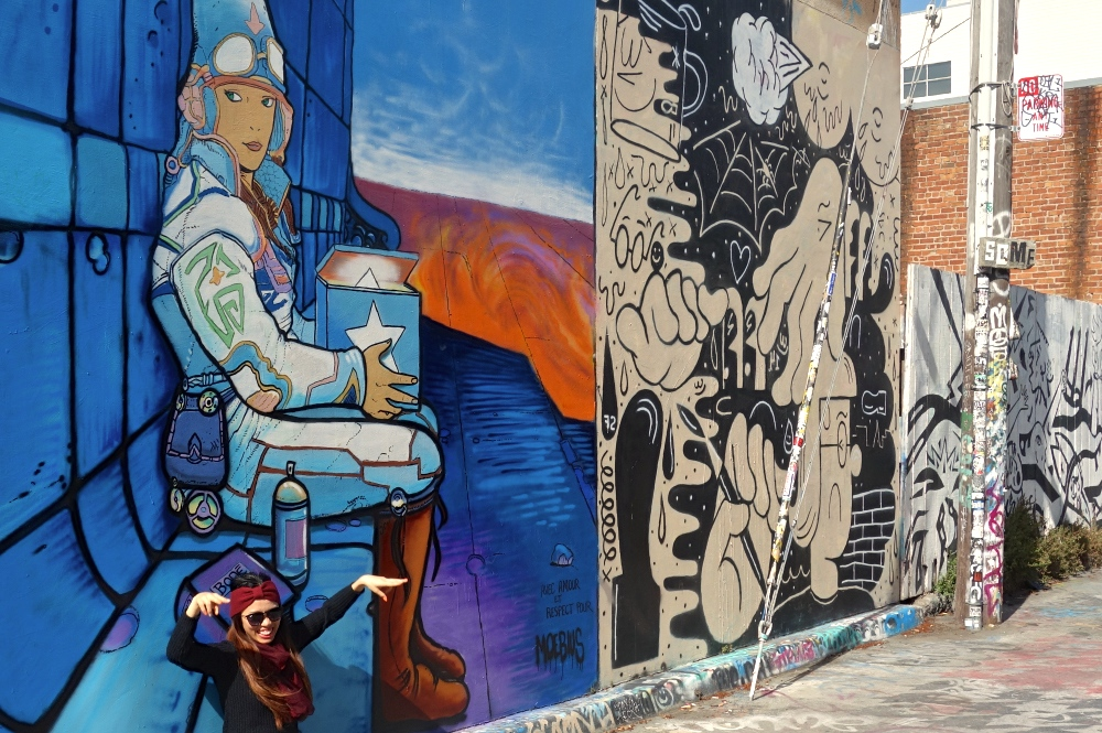 Location: SF – Mission – Clarion Alley