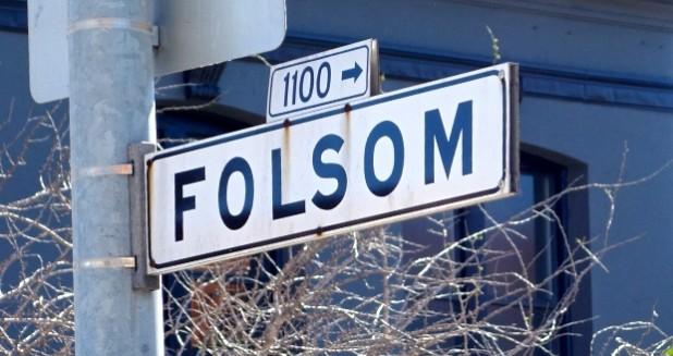 Folsom Street Sign