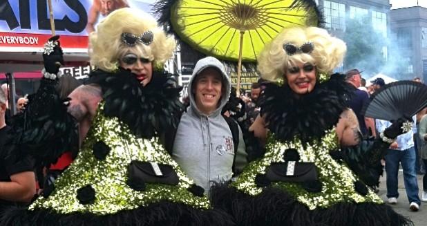 Dylan Folsom Street Fair Drag