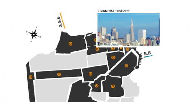 San Francisco Neighborhood Map