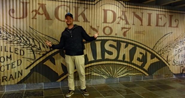 Jack Daniels Distillery Solo Traveler