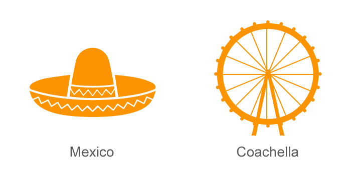 Mexico and Coachella