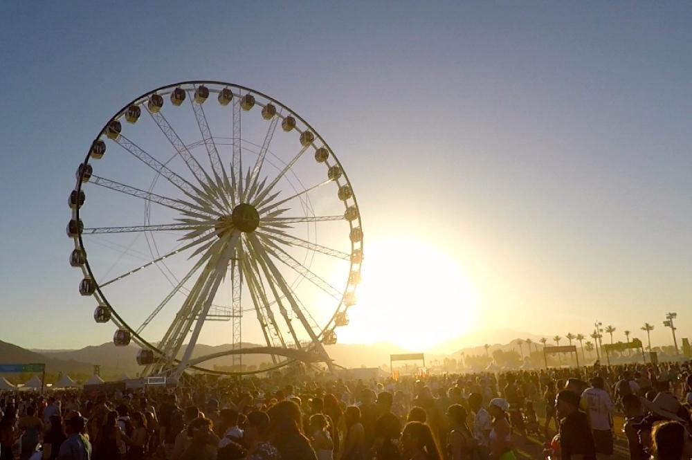 Coachella Tour Sunset