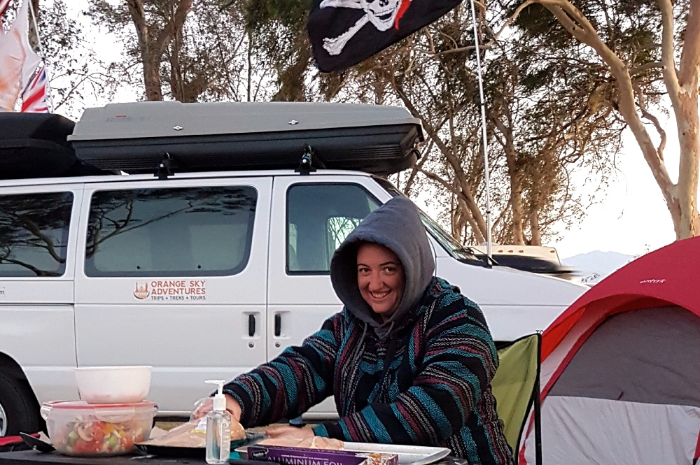 Solo Female Camping at Coachella