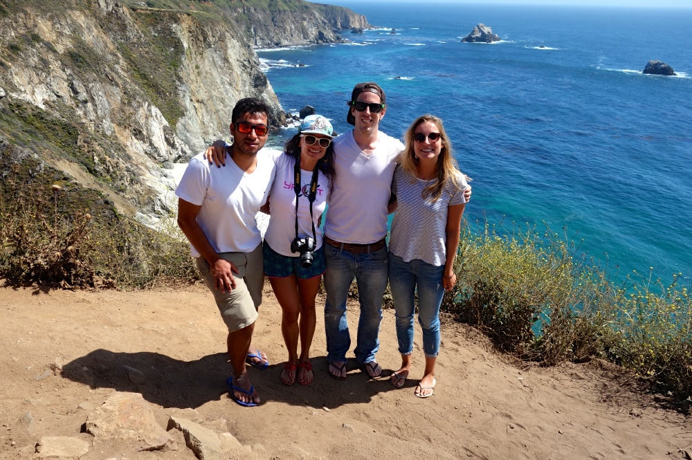 Friends on Road Trip Coachella Tour