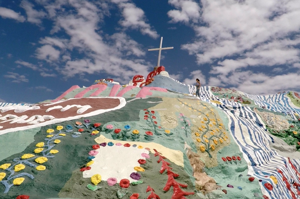 Salvation Mountain Near Coachella