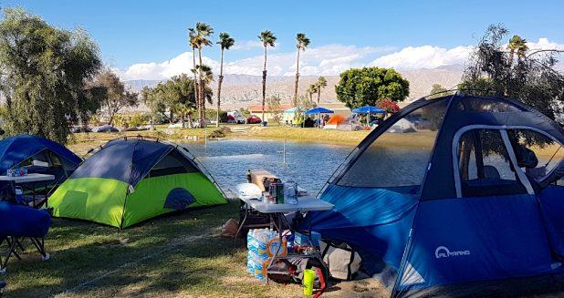 Coachella Camping Alone