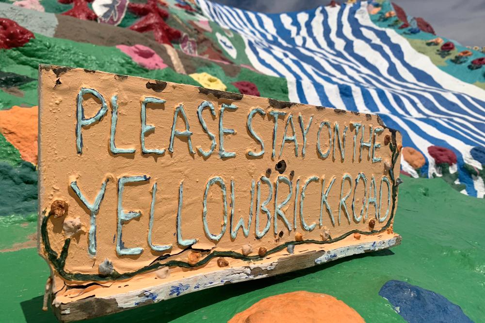 Coachella Yellowbrick Road Salvation Mountain