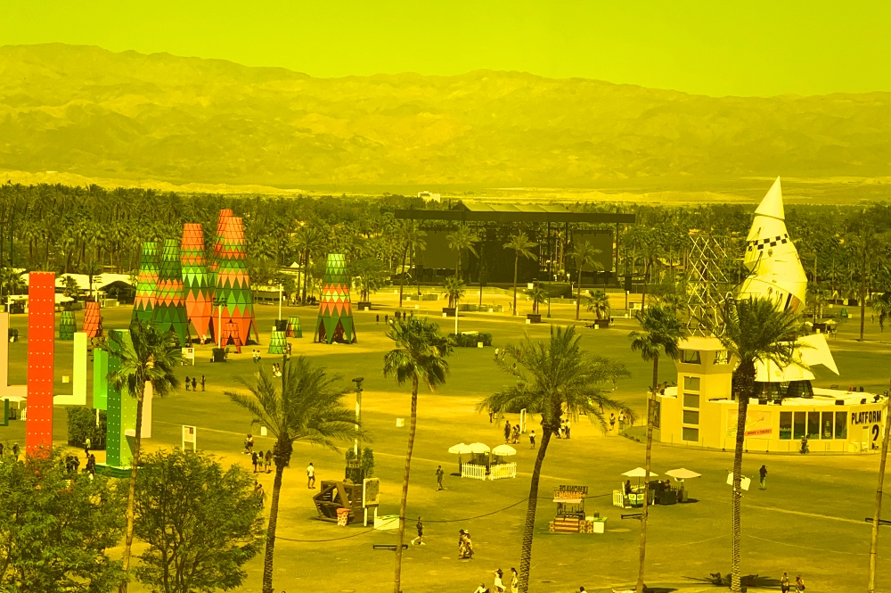 Coachella Tour Through the Neon