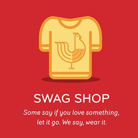 The Orange Chicken Love Swag Shop