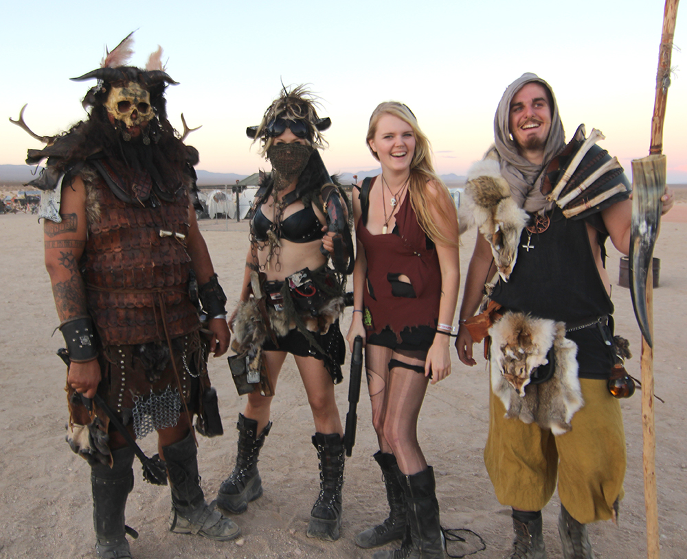 Wasteland Weekend 2014: Costumes and Armor