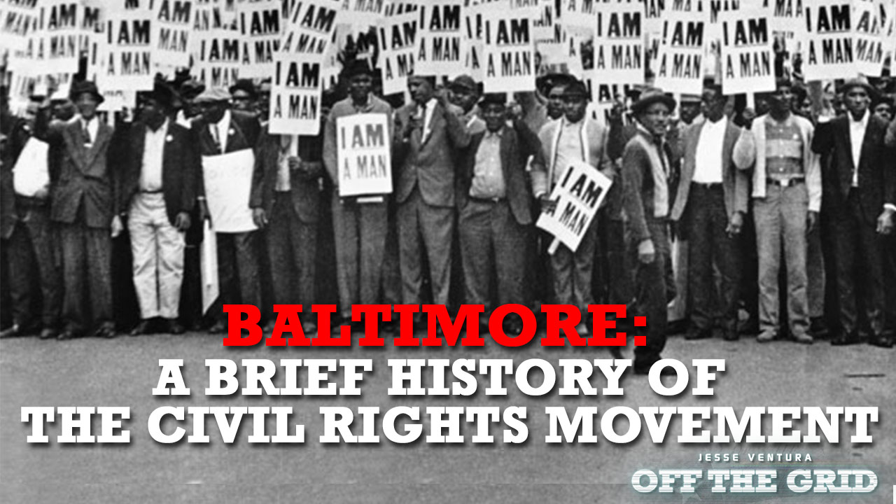 baltimore a brief history of the civil rights movement