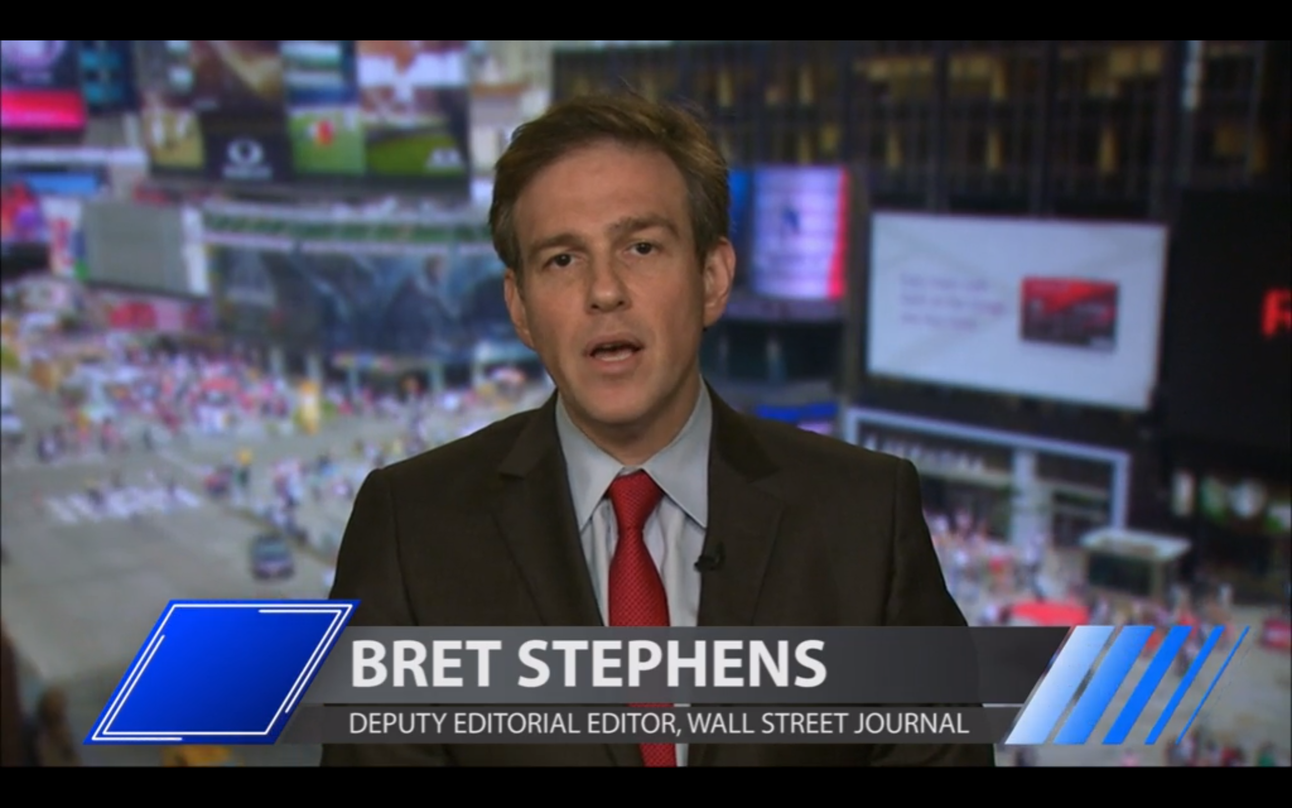 Tonight on PoliticKING: Bret Stephens and Amy Holmes
