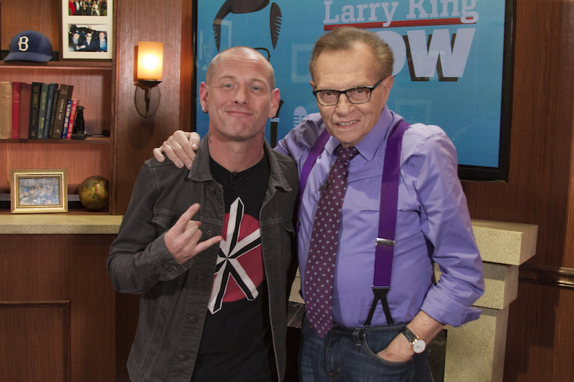 Corey Taylor And Larry King