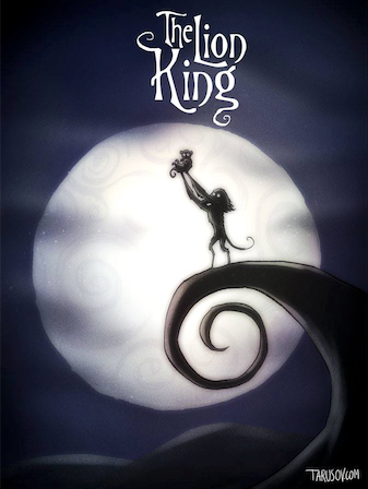 Tim Burton The Lion King