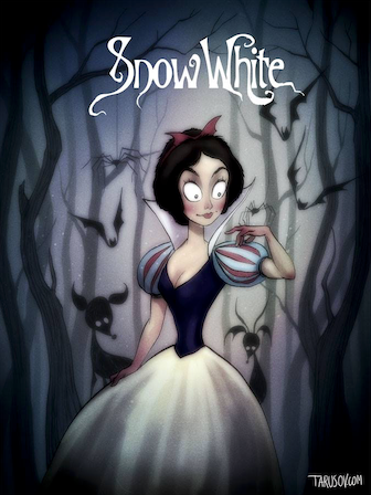 Tim Burton Snow White