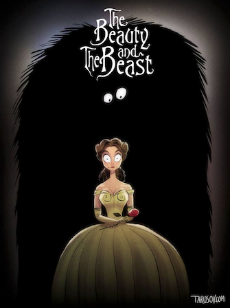 Tim Burton Beauty and the Beast