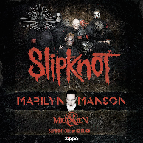 Slipknot, Marilyn Manson Summer 2016 Tour