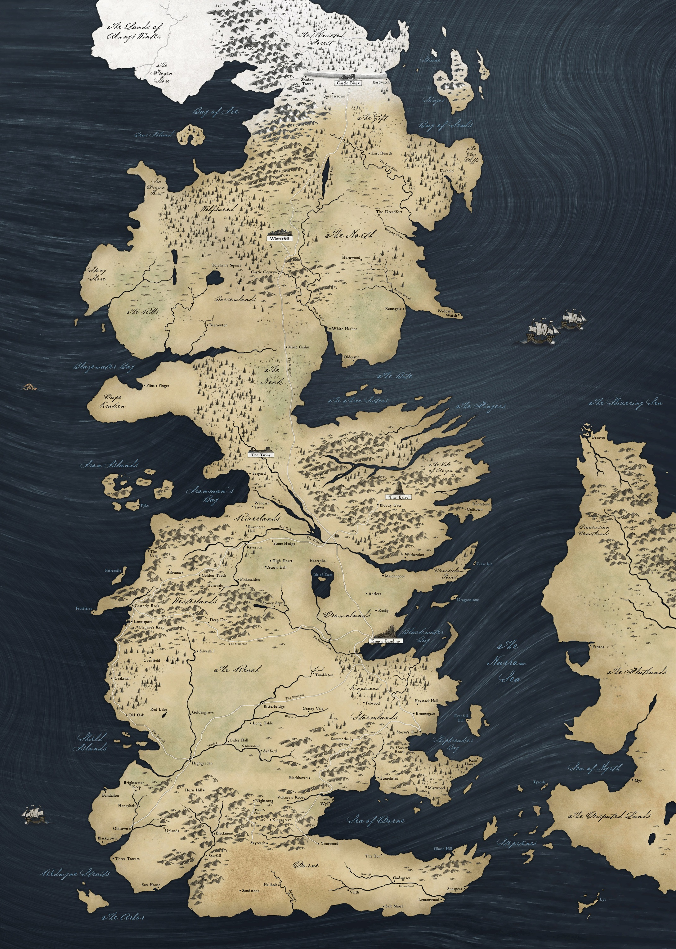 Game Of Thrones Subway Map.Navigate The Seven Kingdoms With These Game Of Thrones Transit Maps