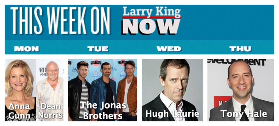 "What's New on ""Larry King Now"""