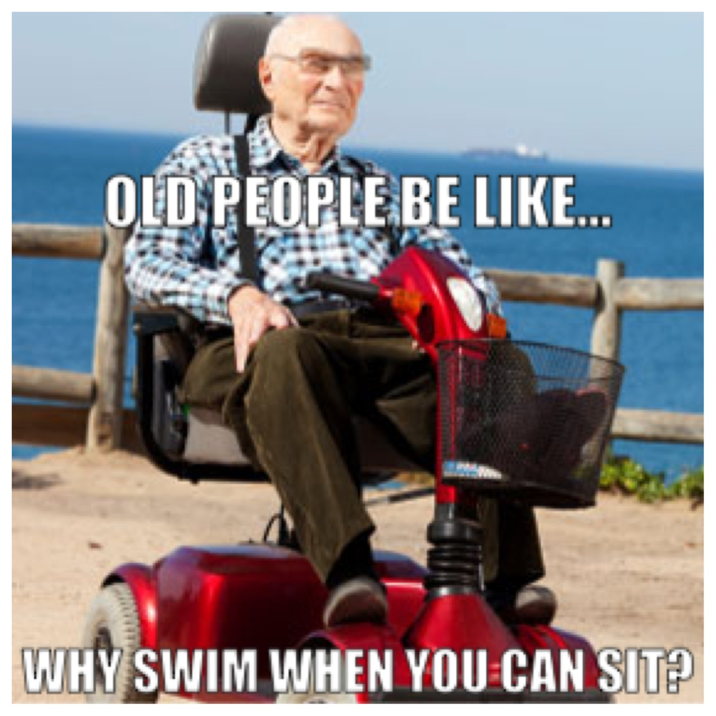 old people be like