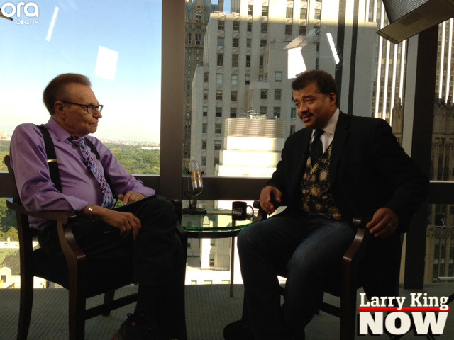"Neil deGrasse Tyson on ""Larry King Now"""