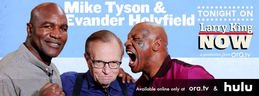 Mike Tyson & Evander Holyfield