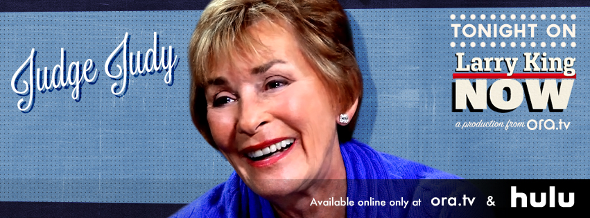 Judge Judy on Larry King Now