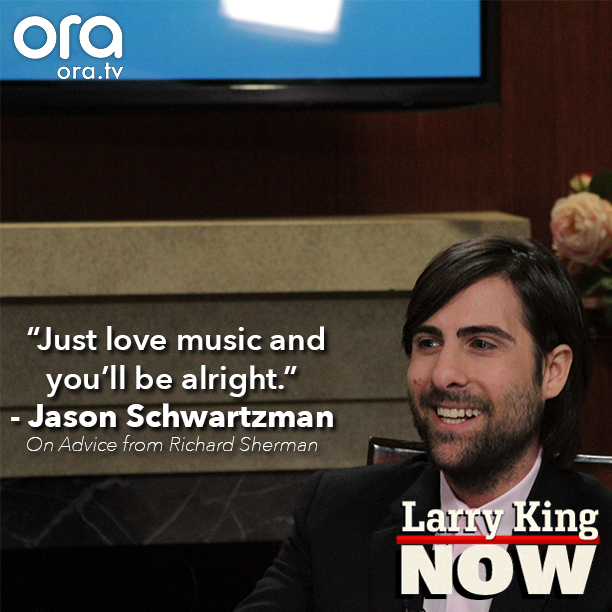 Jason Schwartzman on Larry King Now