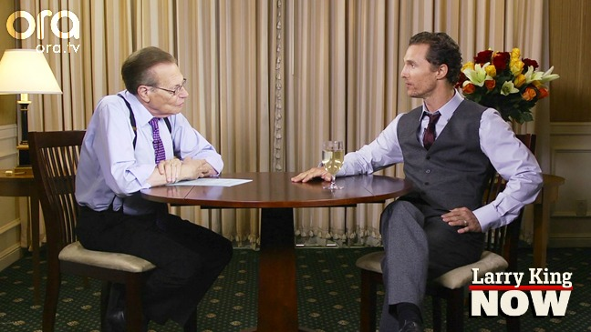 Matthew McConaughey on Larry King