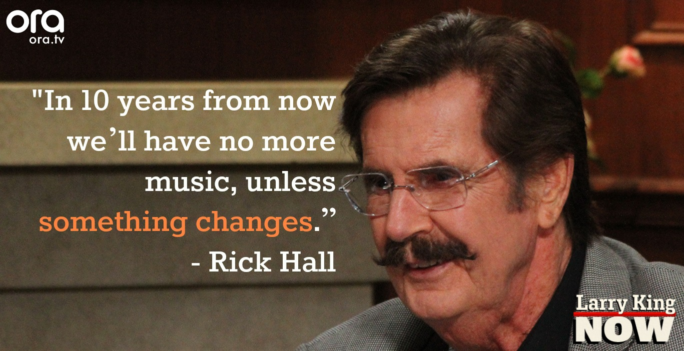 Rick Hall on Larry King Now Grammys
