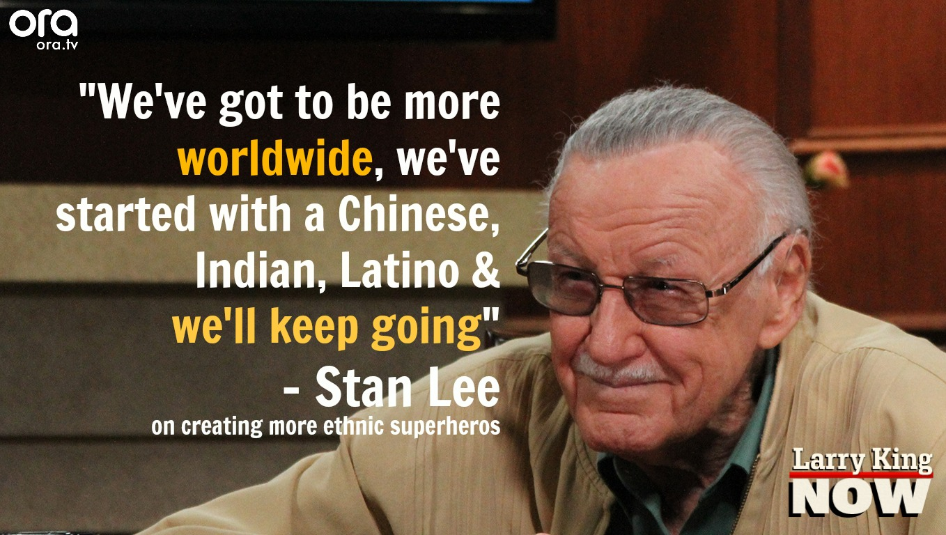 Stan Lee on Larry King Now