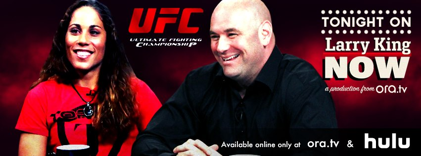 "Liz Carmouche and Dana White on ""Larry King Now"" - Feb 2013"