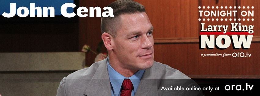 WWE Superstar John Cena on Larry King Now