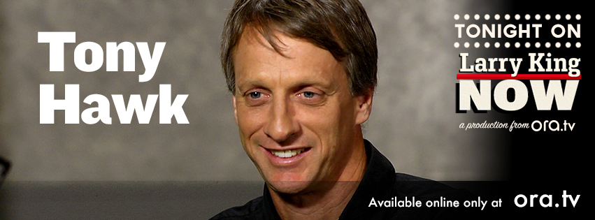 "Tony Hawk on ""Larry King Now"""