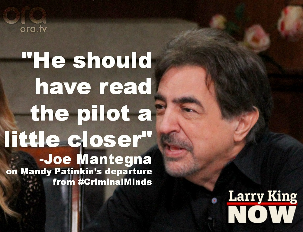 Joe Mantegna on Larry King Now