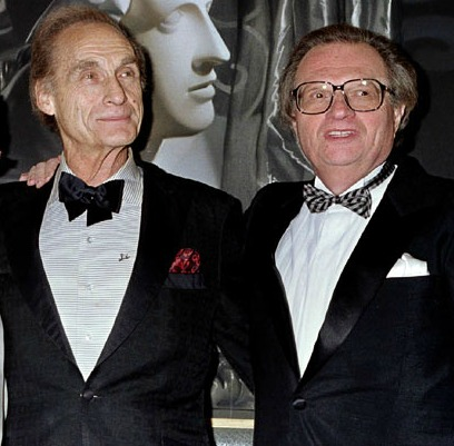 Larry King and Sid Caesar