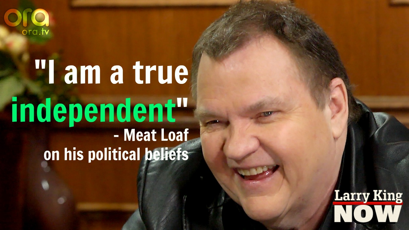 Meat Loaf on Larry King Now