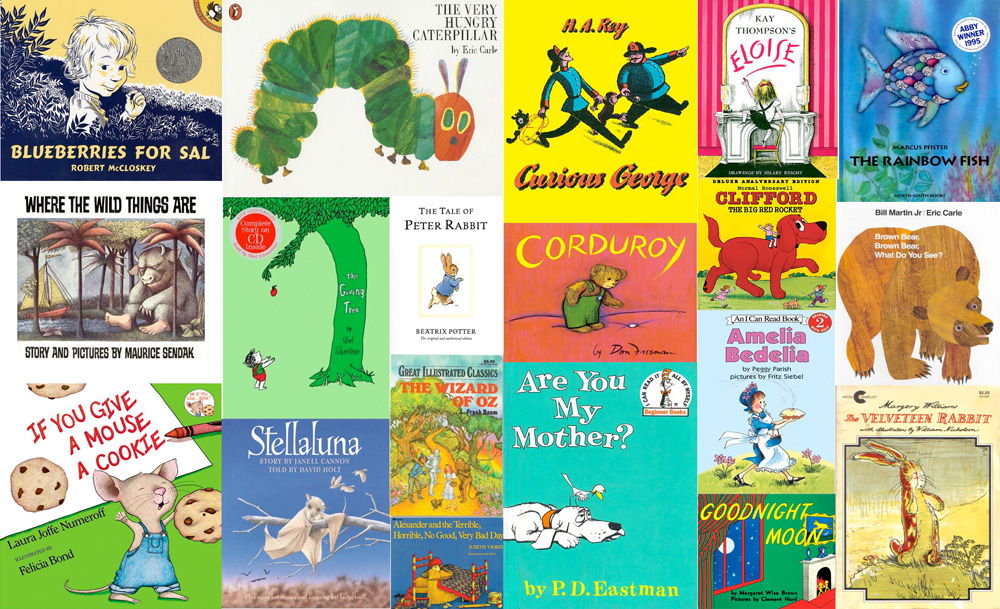 ChildrensBooksCollage1